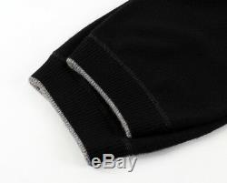 $1390 TOM FORD 100% CASHMERE Joggers Sweatpants Black 54 XXL