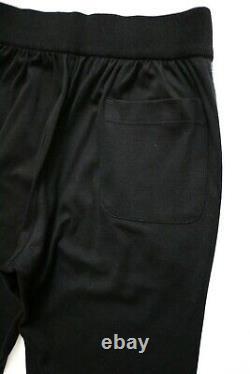 $1650 BRIONI Black Lounge Tracksuit Jogging Pants Sweatpants Size L Large