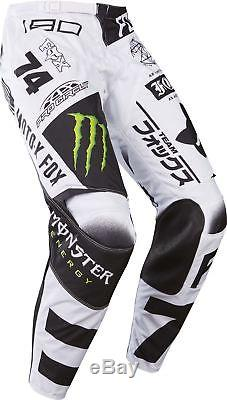 2017 Fox 180 Monster Energy Pro Circuit SE Pant White/Black/Green MX Motocross