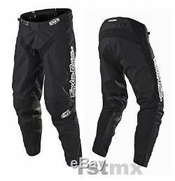 2018 Troy Lee Designs MONO Black TLD MX GP Motocross Race Pants Adults 34