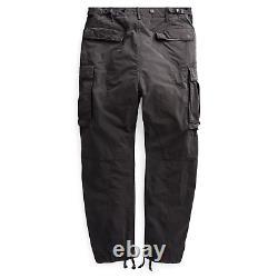 $390 NWT New RRL Ralph Lauren 1950s Black Cargo Flight Pant Men's 29