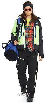 $495 Ralph Lauren RLX Ski Snowboard Waterproof Recco Overalls MEN Pants SZ 2XL