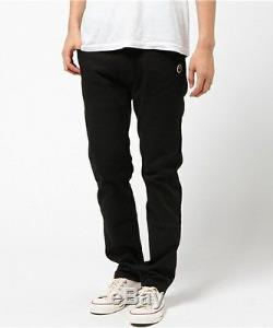 A Bathing Ape Color Stretch Slim Pants Black Khakis Mens Chinos ...