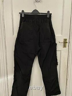A-Cold-Wall Nylon Mesh Pocket Cargo Trousers Size M Black