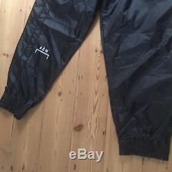 A-Cold-Wall Rare Unworn Exclusive Black Utility Track Pants Trouser Medium