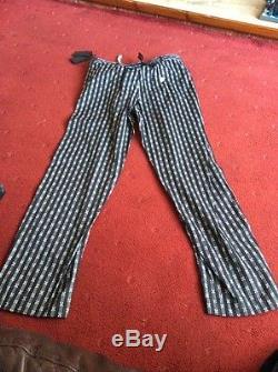 ANN DEMEULEMEESTER Lightweight Cotton Mens 30 Waist Trousers BNWT