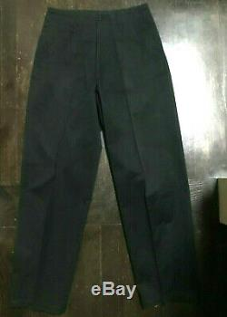 ARCHIVAL 90's YOHJI YAMAMOTO Men's Baggy Black Cotton Linen Pant sz S