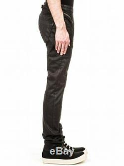 AUTHENTIC RUNWAY SS15 Rick Owens Asymmetrical Zippered Leather Pants Large