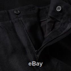 Acne Studios Men's Pace Wool Black Trousers Eu 48 32W New Rrp £210