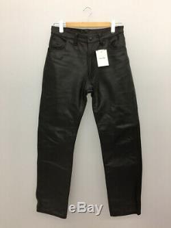 Aero Leather Authentic Steerhide Leather Riders Pants Black Size 32 Used