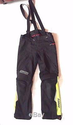 Alpinestars Andes Drystar Textile Pants Black / Yellow Fluo