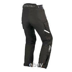 Alpinestars Andes Drystar V2 Mens Waterproof Textile Motorcycle Trousers Black