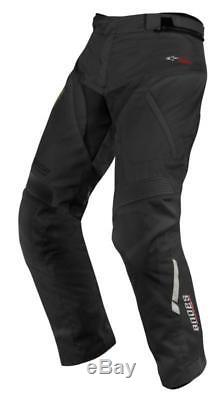 Alpinestars Andes Drystar Waterproof Motorcycle Trousers Regular Leg Black