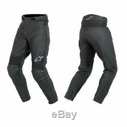 Alpinestars Bat Pants Men's Leather Motorcycle Motorbike Trousers Euro 56