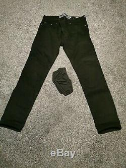 Alpinestars Copper Out Motorcycle Jeans waxed black size 36