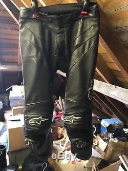 Alpinestars Leather Bike Pants