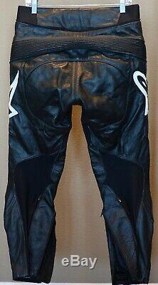 Alpinestars Leather Track Pant, Black, USA 32, Eur 48