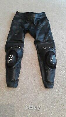 Alpinestars Leather Trousers / Track Pants. Size 54 Euro. Very good condition