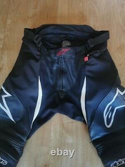 Alpinestars SP X Air Leather Jeans Black / White