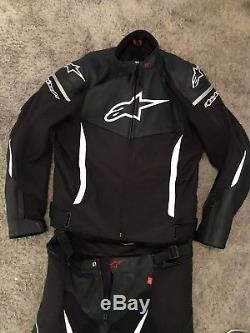Alpinestars SP X Motorcycle Leather Jacket & Trousers 2-piece Suit