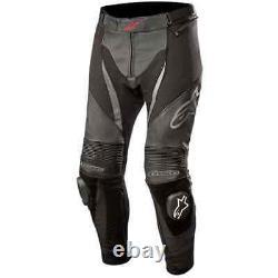 Alpinestars SPX Men's Leather Jean Black Motorcycle Leather Trousers New