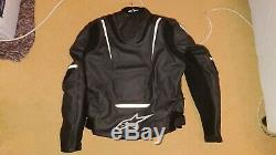 Alpinestars motorcycle motorbike leathers jacket trousers WILL SELL SEPARATELY
