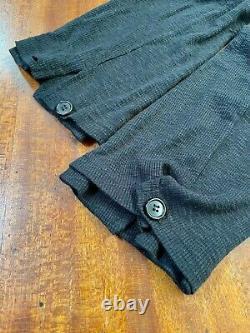 Ann Demeulemeester Paper bag waist knit trousers