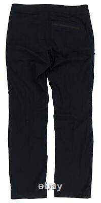 Arc'teryx Men's Palisade Tera Tex Fabric Lightweight Black Pant Size 32Wx32L