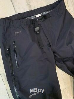 Arcteryx Beta AR Pants Gore-Tex Pro Shell Mens Black Large Tall