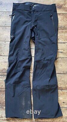 Arcteryx Goretex Trousers Mens 32 Regular Black