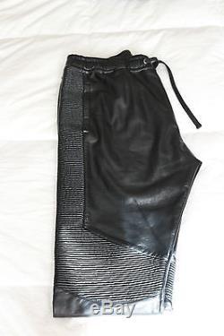 BALMAIN Slim cotton track pants