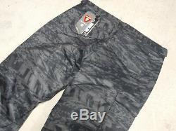 BLACK CAMO UNDER ARMOUR SNOW PANTS COLD WEATHER SKI TROUSER X-LARGE PRIMALOFT br