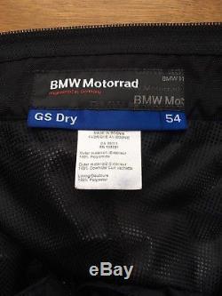 BMW GS Dry Trousers Mens EU54 Black/Anthracite