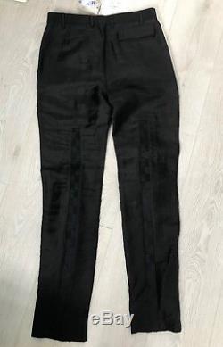 BNWT 48 32 Vivienne Westwood Harrods Black Bondage Mens Trousers Tartan £525