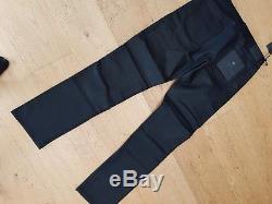 BNWT Belstaff Blackrod Black Trousers Jeans 32 W / 33 L £275