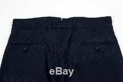 BRAND NEW Engineered Garments Andover Pant Navy/Black Floral -36-MSRP $410
