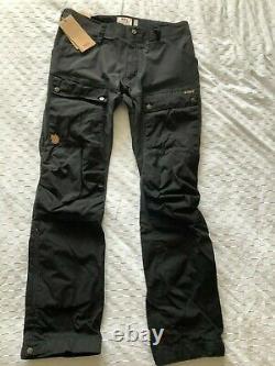 BRAND NEW Fjall Raven Keb Trousers M Long 33-34 Mens