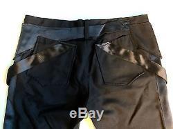 Balenciaga Tailored Black Pants 40