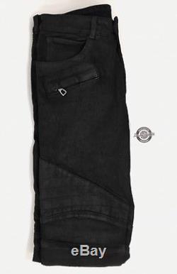 Balmain H&M Biker Denim Jeans 33 Waist 33 DS Trousers Pants