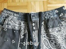 Bandana/paisley patchwork pants