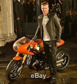 Belstaff David Beckham Waxed Blackrod Jeans Pants Trousers Moto Bike Size 34 New