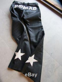 Bill Wall Leather Riding Motorcycle Pants custom BWL