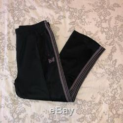 Black And Purple Needles Track Pants Size Xl