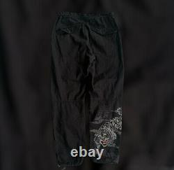 Black Maharishi Tiger Embroidered Snopants Mens Small