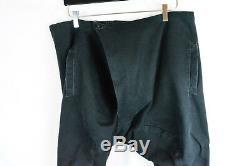 Boris Bidjan Saberi Men's Pants Drawstring S M L Medium P12-f1932 Black Distress