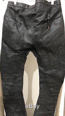 Boris Bidjan Saberi- P4 F253 Oiled Pig Leather Pants