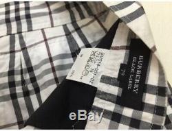 Burberry Nova Check Pants Black Label Size 33