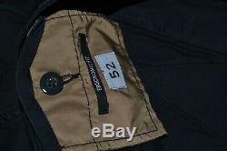 C. P. CP Company Garment Dyed Lens Pocket Cargo Black Trouser Pants size 52