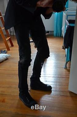 CAROL CHRISTIAN POELL L shaped black pants 48 trousers