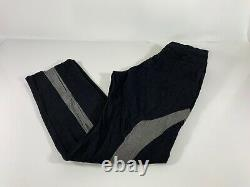 COMME des GARCONS HOMME PLUS EVER GREEN Mens Black Gray Pants Sz XL NWT